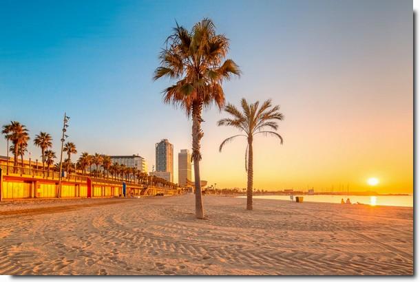 Plaże Costa Blanca Hiszpania