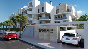 Luksusowy apartament przy plaży ze SPA