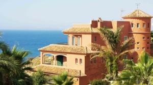Widok na morze willa w Alicante
