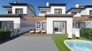 Aguas de Busot nowe domy