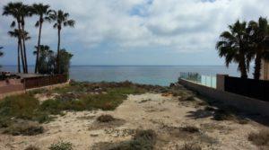 Alicante El Campello działka przy plaży