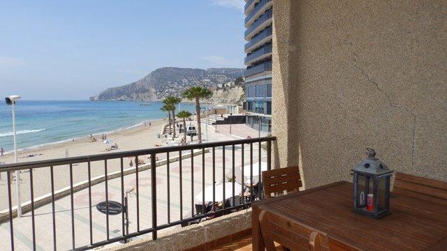 Apartament na sprzedaż w Calpe w pierwszej linii. Hiszpania nieruchomości
