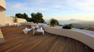 Sierra de Altea luksusowy apartament z widokiem na morze