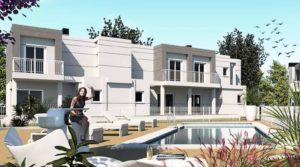 Denia Els Poblets nowe domy szeregowe