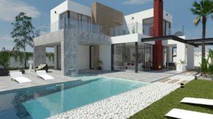 Nowe wille na Costa Calida w Los Alcazares