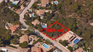 Działka z pozwoleniem na budowę w Hiszpanii na Costa Blanca